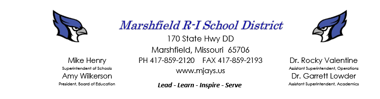 Marshfield R-1 Schools MO